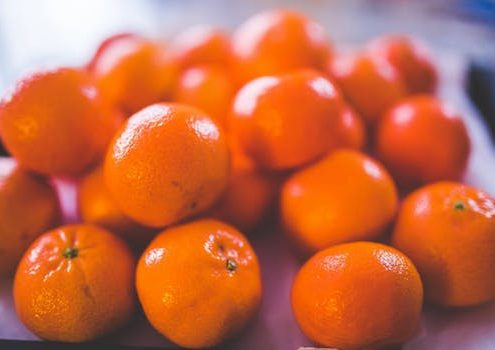 pile of mandarins